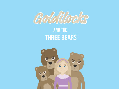 Goldilocks & The Three Bears Storybook