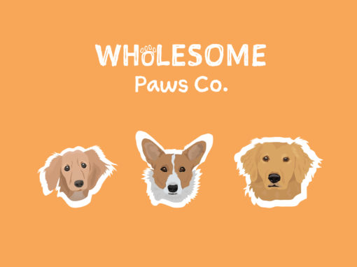 Wholesome Paws Co. Packaging
